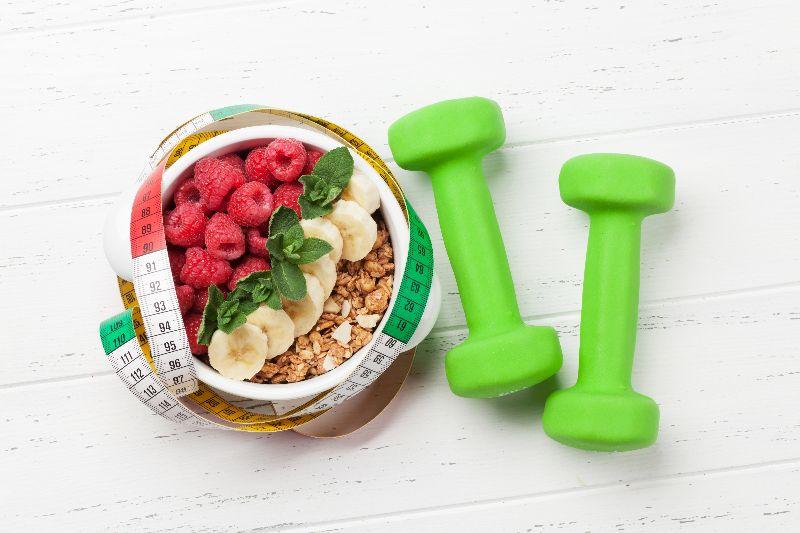 Siempre consume alimentos antes de comenzar tus ejercicios.