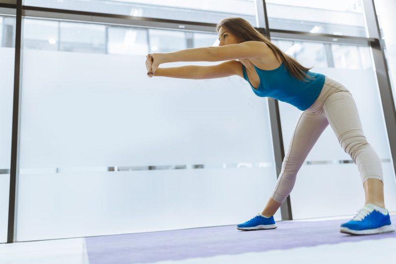 Busca un espacio adecuado para hacer los ejercicios