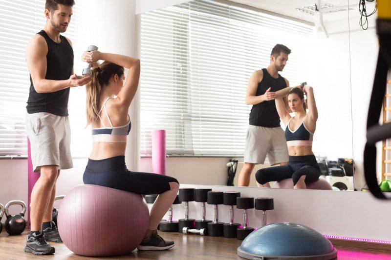 Con ejercicios personalizados puedes lograr mejores resultados
