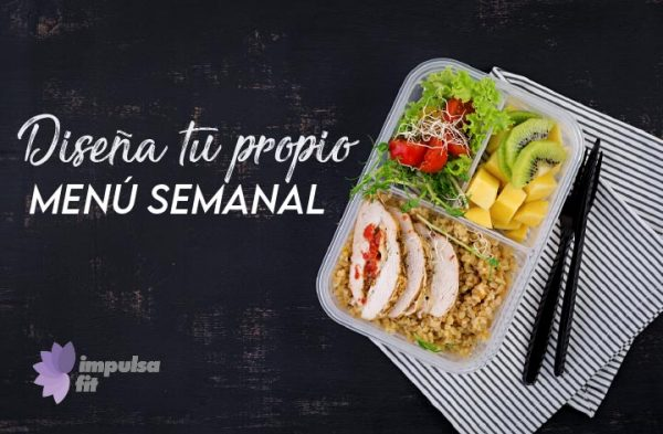 diseña tu menu semanal saludable