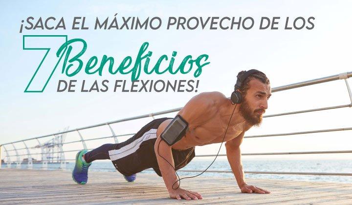 Conoce algunos beneficios de hacer flexiones