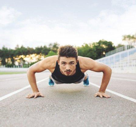 flexiones ejercicio