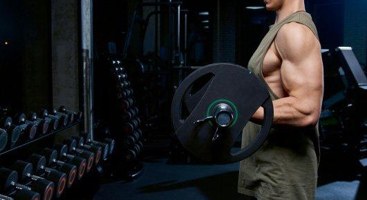 músculos pesas